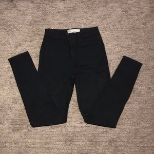 High Rise RSQ Black Jeans